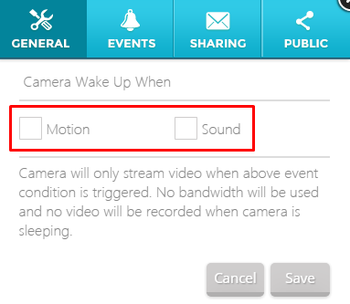 web_live_setting_Camera-Sleep_wake-up